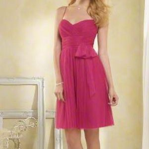 """Alfred Angelo """"Vivid Pink"""" Tulle Dress NWT- Size14"""